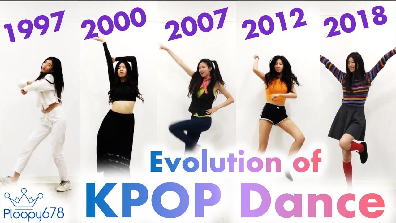 kpop dance evolution