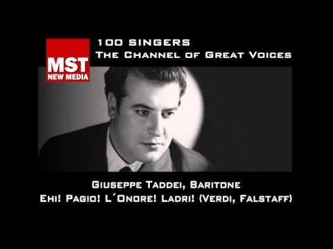 100 Singers - GIUSEPPE TADDEI