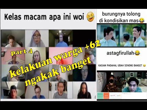VIDEO LUCU BIKIN NGAKAK 2021 ~ KELAKUAN WARGA +62 MEME RANDOM PARA TOLOL PART 4 NEW