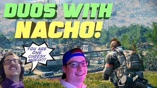 DUOS WITH NACHO!!! BACK TO BACK WINS!!! - CoD BLACKOUT