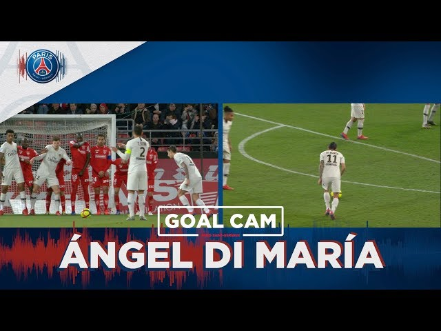 GOAL CAM | Every Angles | ANGEL DI MARIA vs Dijon
