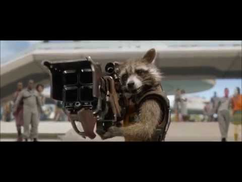 Guardians of the Galaxy - first meeting