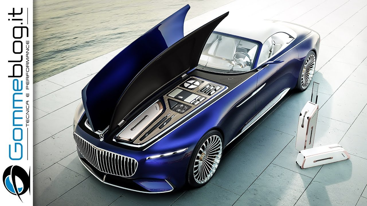 Mercedes Maybach 6 Cabriolet Top Luxury Car Interior Exterior