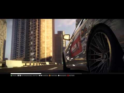 [Extrait PC HD]  Grid 2 ( music Push it to the limit)