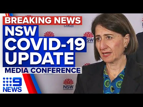 Coronavirus: NSW Premier Provides COVID-19 Update | 9 News Australia