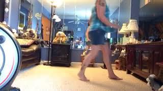 She kept the hotel key line dance Video