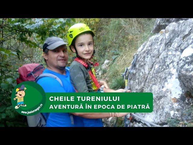Aventură în Epoca de Piatră - Cheile Tureniului