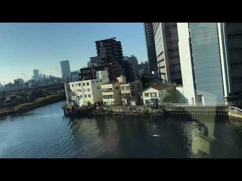 Tokyo Monorail from Haneda Airport to Hamamatsucho Station