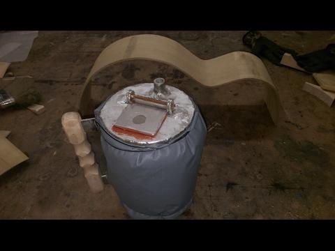 DIY steam generator wood bending