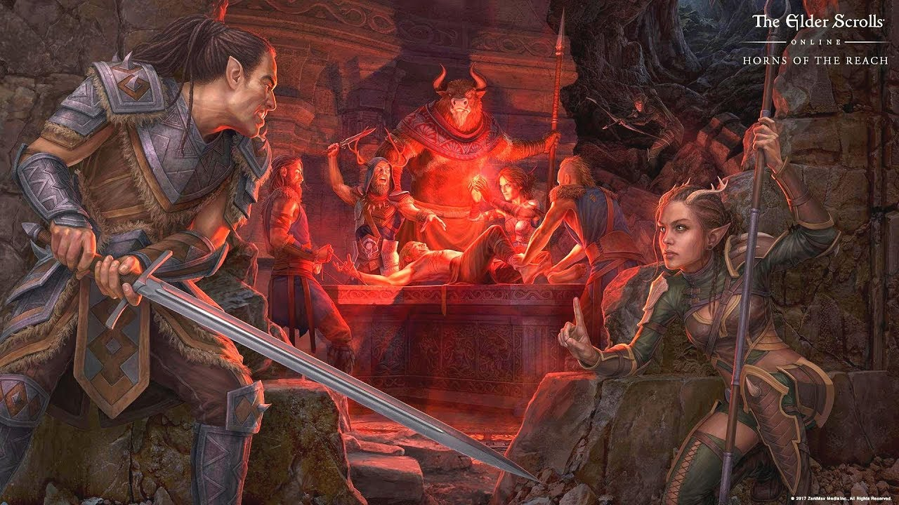 The Elder Scrolls Online: Horns of the Reach – All Cutscenes (Game Movie) 1080p HD