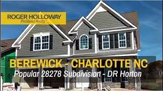 Berewick Subdivision Homes in Charlotte NC 28278