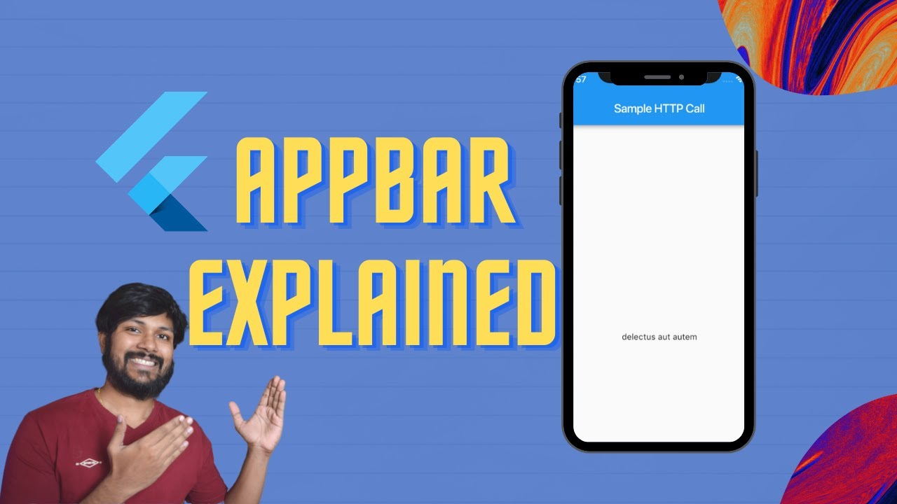 Flutter Appbar with Example - Quick Custom AppBar - Android
