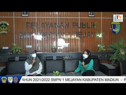 PENUTUPAN MPLS SMPN 1 MEJAYAN TAHUN 2021/2022