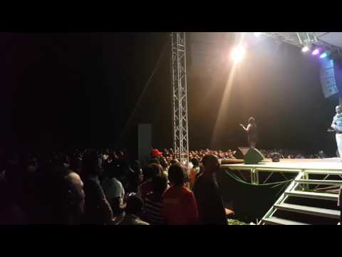 Leila kayondo Performs at Kyambogo Freshers Ball