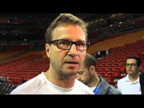 Brooks: Shootaround in Miami