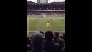 Kane's last minute penalty Spurs v West Ham