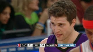2014.02.12 - Jimmer Fredette Career Night Full Highlights at Knicks - 24 Pts, On Fire!
