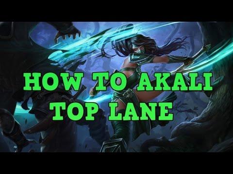 Akali Guide: How To Top Lane/Snowball As Akali - Best Akali KR
