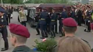 Похороны В.В.Лобановского