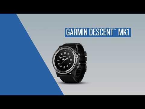 Garmin Descent Mk1: Using Garmin Connect Mobile
