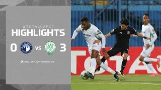 HIGHLIGHTS   Pyramids FC 0 - 3 Raja CA   Matchday 4   #TotalCAFCC