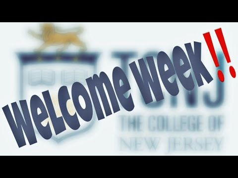 TCNJ C/o 2022 Welcome Week | College Vlog #2