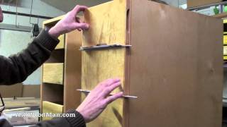 How To Make Plywood Boxes • 63 Of 64 • Woodworking Project For Kitchen Cabinets, Desks, Etc..