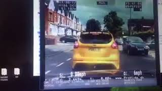 Police Chase In Small Heath