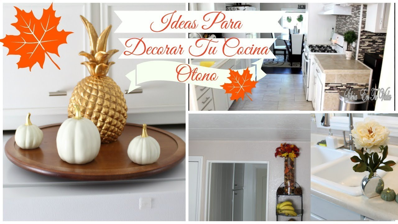 IDEAS PARA DECORAR LA COCINA / DECORACION - YouTube