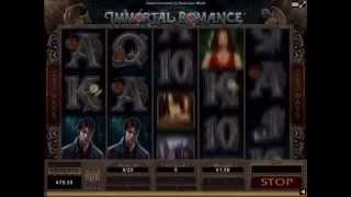 IMMORTAL ROMANCE. NEW CASINO PAYS! Hit and run