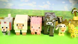 Minecraft Animal Toy 6-Pack / Набір фігурок тварин - Minecraft / минекрафт - 16590