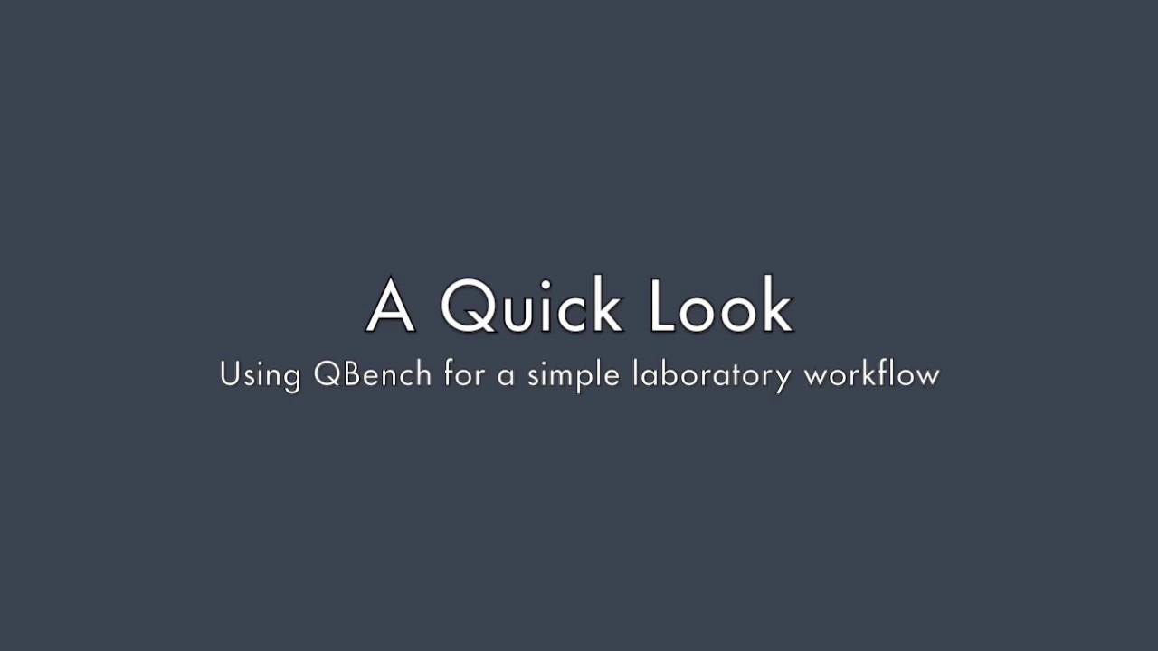 Intro to QBench LIMS - YouTube