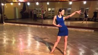 Weronika Młynarczyk rumba solo
