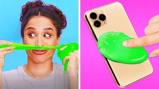 10 GENIUS CLEANING HACKS || Lazy Ways To Clean by 123 GO! GOLD