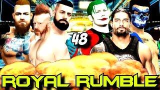 ROYAAAL RUUUMBLEE | WWE 2K16 Universe | 48.Bölüm | Ps 4