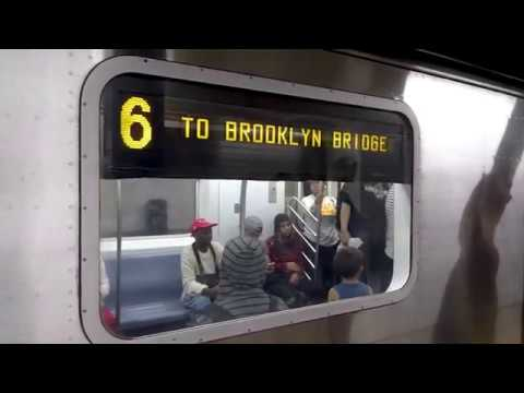 MTA New York City Subway: Brooklyn Bridge-bound R142 6 Train at the 86  Street Station