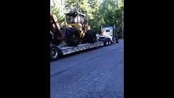 LOGGING WASHINGTON TIMBER, Loggers, Heavy Equipment, Trucking Logs Log Hauling