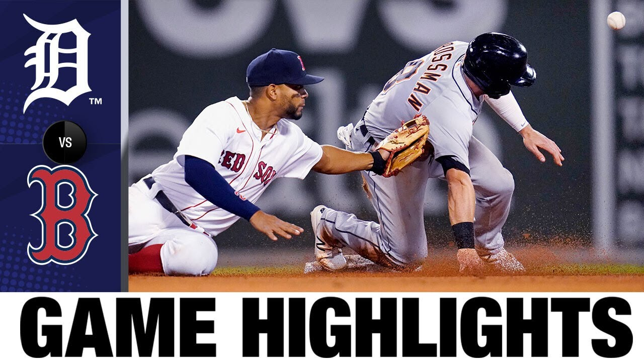 Download Tigers vs. Red Sox Full Game Highlights (5/4/21) | MLB Highlights