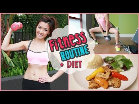 My Fitness Routine + Healthy Food Ideas!