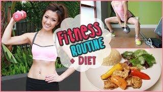Video My Fitness Routine + Healthy Food Ideas! download MP3, 3GP, MP4, WEBM, AVI, FLV Juni 2018