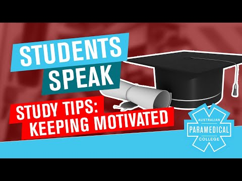 APC Students Speak Study Tips - Keeping Yourself Motivated