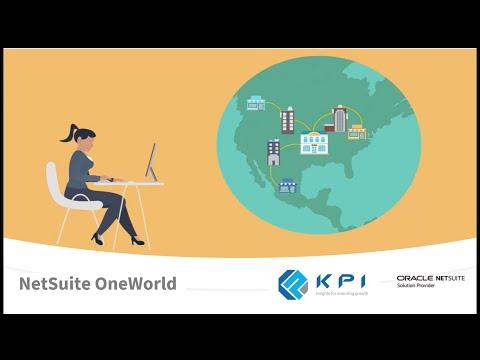 NetSuite OneWorld for Global Business Management | KPI