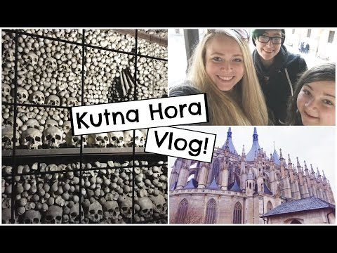 Bone Church in Kutna Hora! | Study Abroad Travel Vlog
