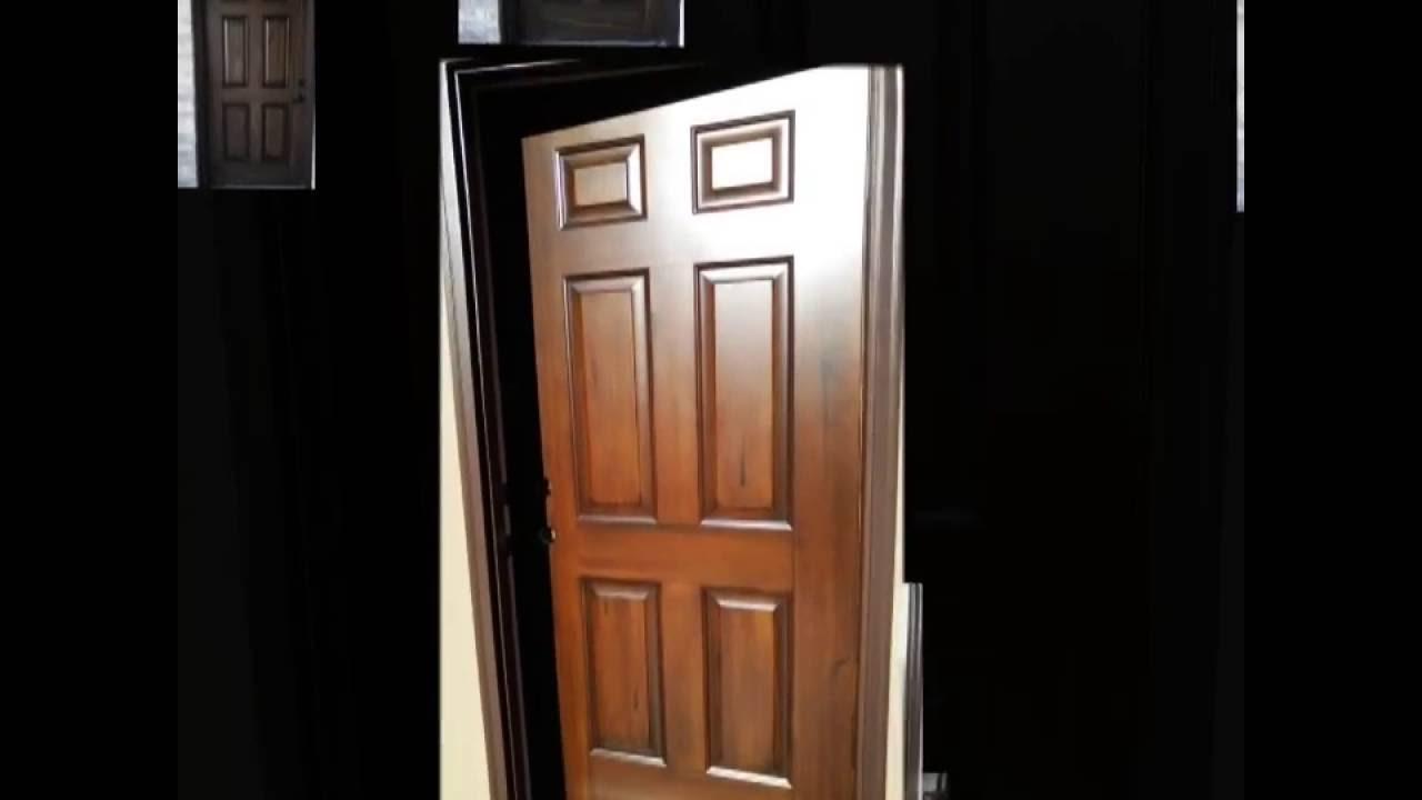 Front door wood grain & Front door wood grain - YouTube