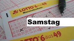 Lotto - Ziehung der Lottozahlen, Samstag 26.08.2017