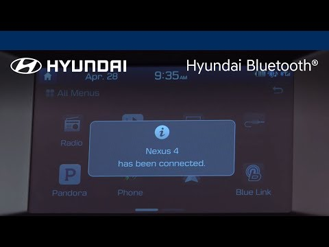 "Hyundai Bluetooth® – Display Audio – ""Pairing The Phone"""