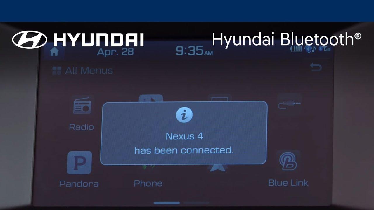 Pairing The Phone   Display Audio   Hyundai Bluetooth®