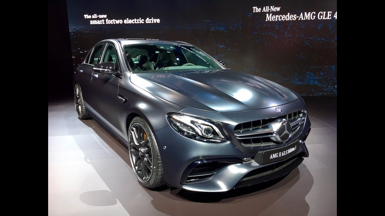 2018 Mercedes Amg E63 S Redline First Look 2016 Laas