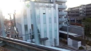 東急8500系 側面展望 長津田→三軒茶屋(田園都市線急行) 8628編成8793号車右 thumbnail
