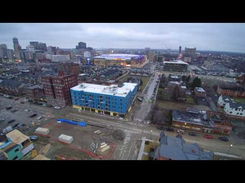 Brush Park / Modern City Midtown Detroit Michigan February Construction Update